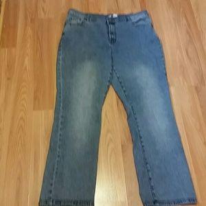 Diane Gilman stretch jeans sz 18W